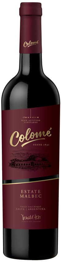 2018 Colomé Malbec Estate