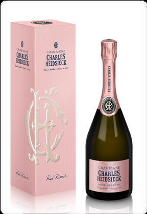 NV Charles Heidsieck Rose Reserve in Gift Box